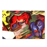 Horses by Franz Marc Postcards (Package of 8)