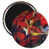 "The Fox by Franz Marc 2.25"" Magnet (100 pack)"