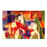 Elephant Horse Cow by Franz Marc Postcards- 8