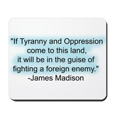 Tyranny Quote Mousepad