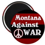 Montana Against War Magnet