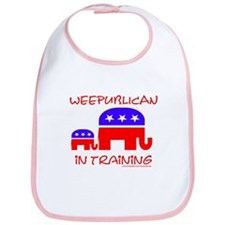 weepublican in training Bib