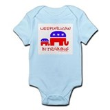 weepublican in training Infant Creeper