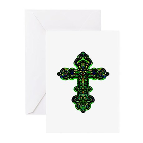 Ornate Cross Greeting Cards (Pk of 20)