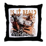 Is It Real? Throw Pillow