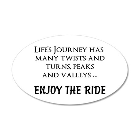 Enjoy The Ride Wall Decal