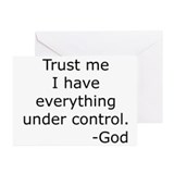 Trust Me... God Greeting Cards (Pk of 10)