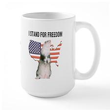 I Stand For Freedom - Mug