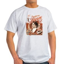 Retro Harry Houdini Poster T-Shirt