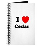 I Heart Cedar Journal