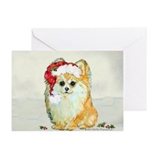 Christmas Pomeranian Greeting Cards (Pk of 10)