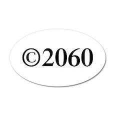 Copyright 2060-Tim black Wall Decal