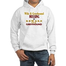 Wife & Greyhound Missing Hoodie