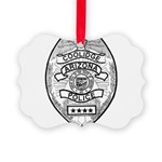 Cooldige Arizona Police Picture Ornament
