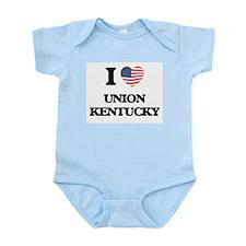 I love Union Kentucky Body Suit