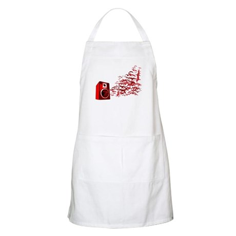 Fly away with the music BBQ Apron