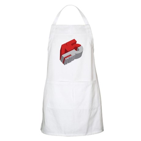 45 RPM BBQ Apron