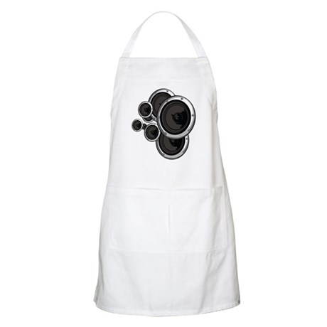 Speaker Wall BBQ Apron