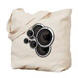 Speaker Wall Tote Bag