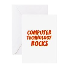 Computer Technology~Rocks Greeting Cards (Pk of 10