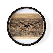 Chicago, Illinois Wall Clock