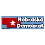 Nebraska Democrat Bumper Sticker
