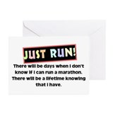 Marathon Runner's Greeting Cards (Pk of 20)