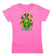 Cute Family crests coat arms Girl's Tee