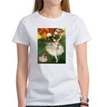 Dancer 1 & fawn Pug Women's T-Shirt