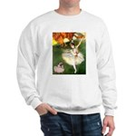 Dancer 1 & fawn Pug Sweatshirt