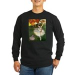 Dancer 1 & fawn Pug Long Sleeve Dark T-Shirt