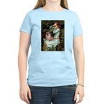 Ophelia / Fawn Pug Women's Light T-Shirt