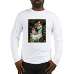Ophelia / Fawn Pug Long Sleeve T-Shirt