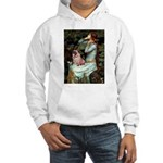 Ophelia / Fawn Pug Hooded Sweatshirt