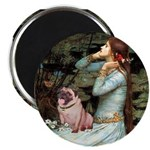 Ophelia / Fawn Pug Magnet