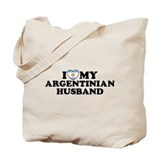 I Love My Argentinian Husband Tote Bag