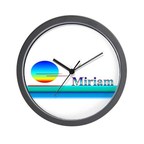 Miriam Wall Clock