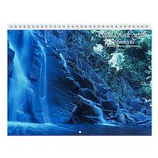 Waterfalls Wall Calendar