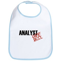 Off Duty Analyst Bib
