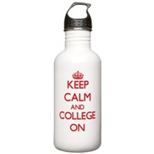 Keep Calm and College Water Bottle