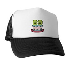 89 Year Old Birthday Cake Trucker Hat