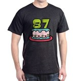 87 Year Old Birthday Cake T-Shirt