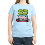 83 Year Old Birthday Cake T-Shirt