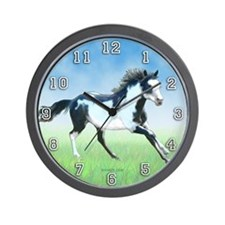 Paint Horse Wall Clock