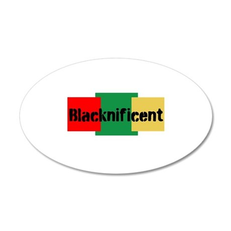 Blacknificent Wall Decal