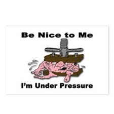 Stress Under Pressure Postcards (Package of 8)