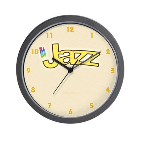 Jazzy Breeze Wall Clock