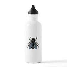 Vintage Fly Water Bottle