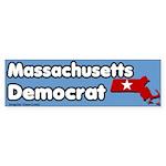 Massachusetts Democrat Bumpersticker