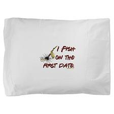First Date Fish Pillow Sham